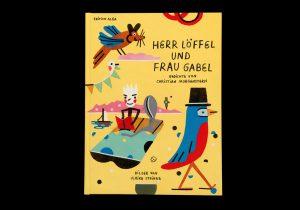 Herr Löffel und Frau Gabel.